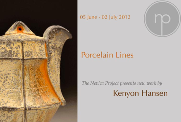 Porcelain Lines Kenyon Hansen