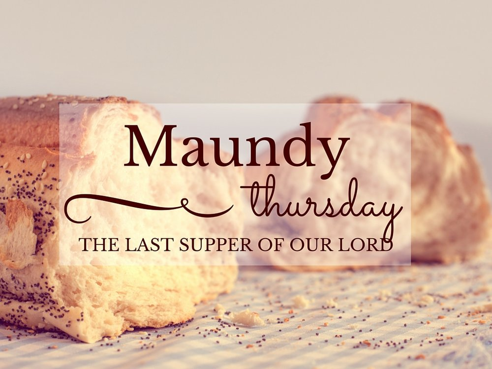 Worship with us on Thursday, March 29th at 6:30 pm.