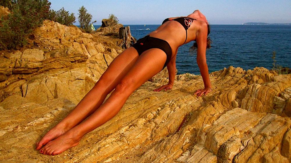 Posture de yoga phalakasana