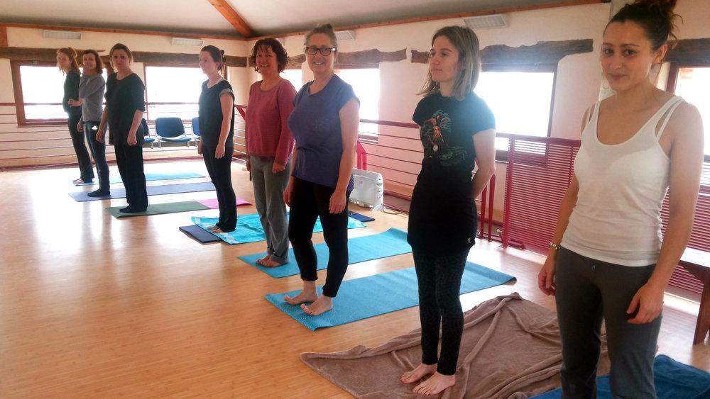 Salle de Yoga à Venerque.