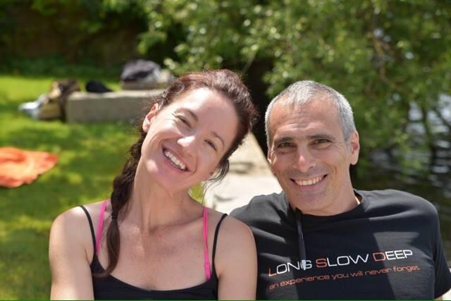Avec Bryan Kest le créateur de Power Yoga Santa Monica, Californie, Etats Unis.