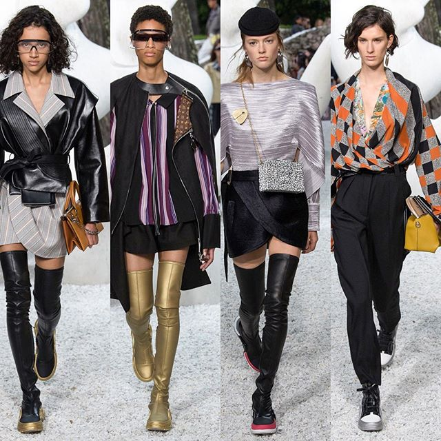 Oh #darling @nicolasghesquiere #eccentricity is the #best #louisvuitton #resort2019