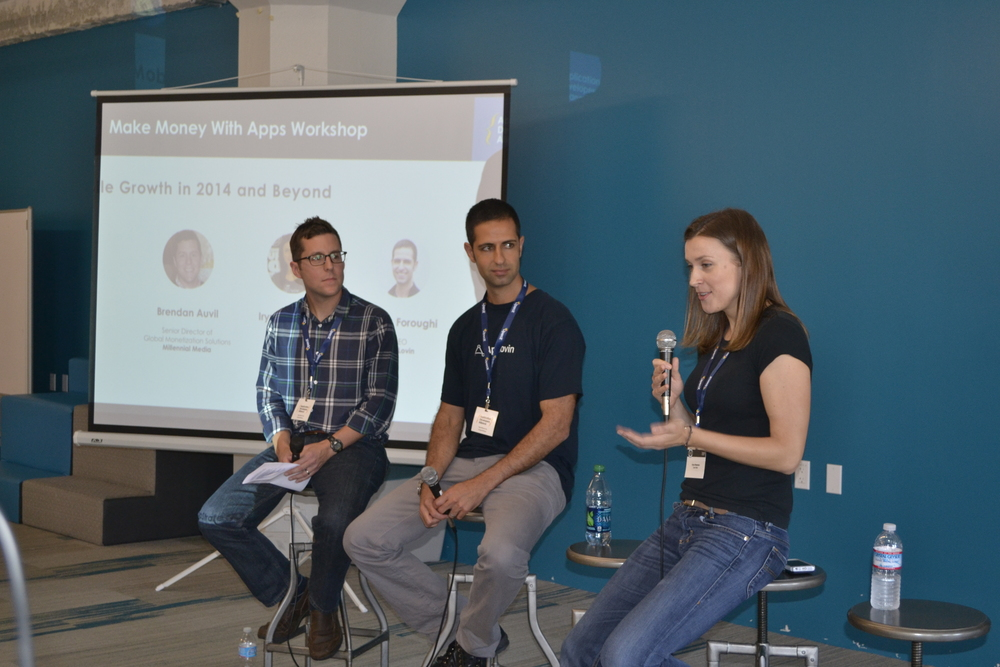 Iryna from OpenTable, Adam from AppLovin, and Brendan from Millennial Media discuss mobile growth in 2014.