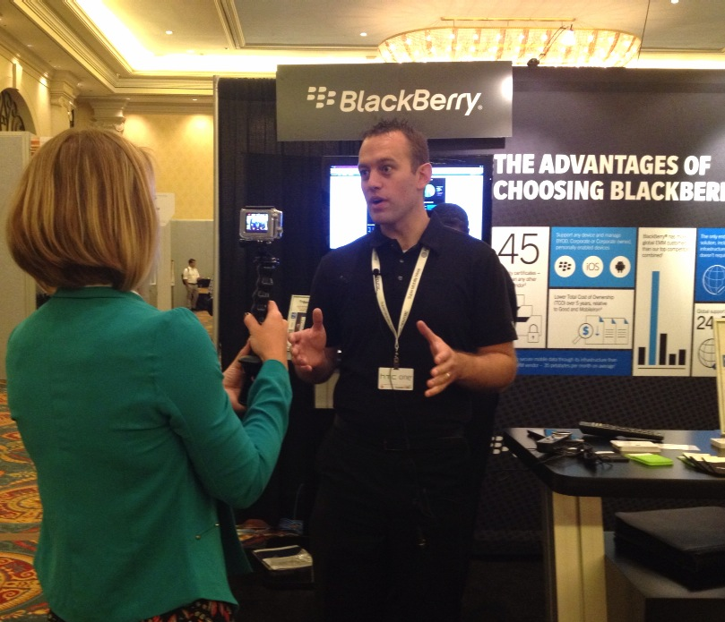 Chelsea Andrews interviews BlackBerry on the projects they are working on for developers.