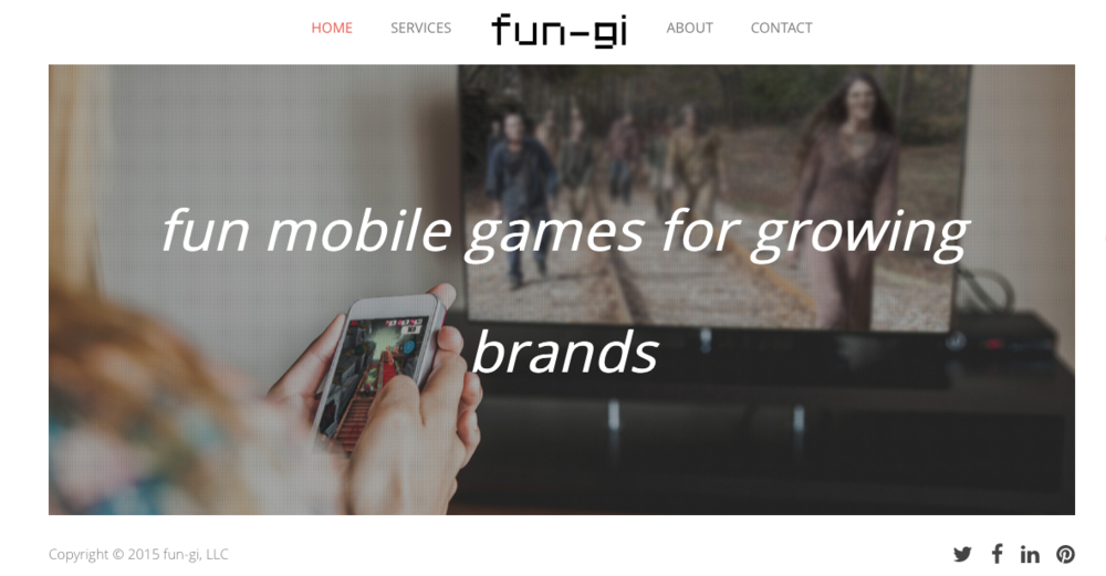 The homepage for fun-gi.