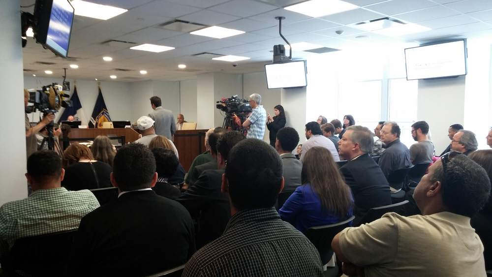 Standing room only at the TLC public hearing