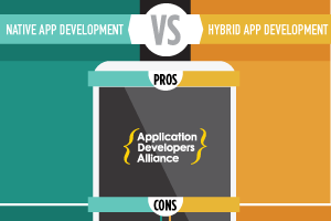 NATIVE VS. HYBRID    VIEW INFOGRAPHIC   ➔