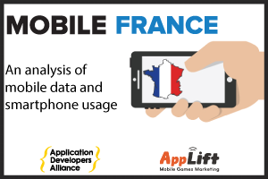 MOBILE USAGE IN FRANCE VIEW INFOGRAPHIC ➔