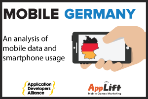 MOBILE USAGE IN GERMANY VIEW INFOGRAPHIC ➔