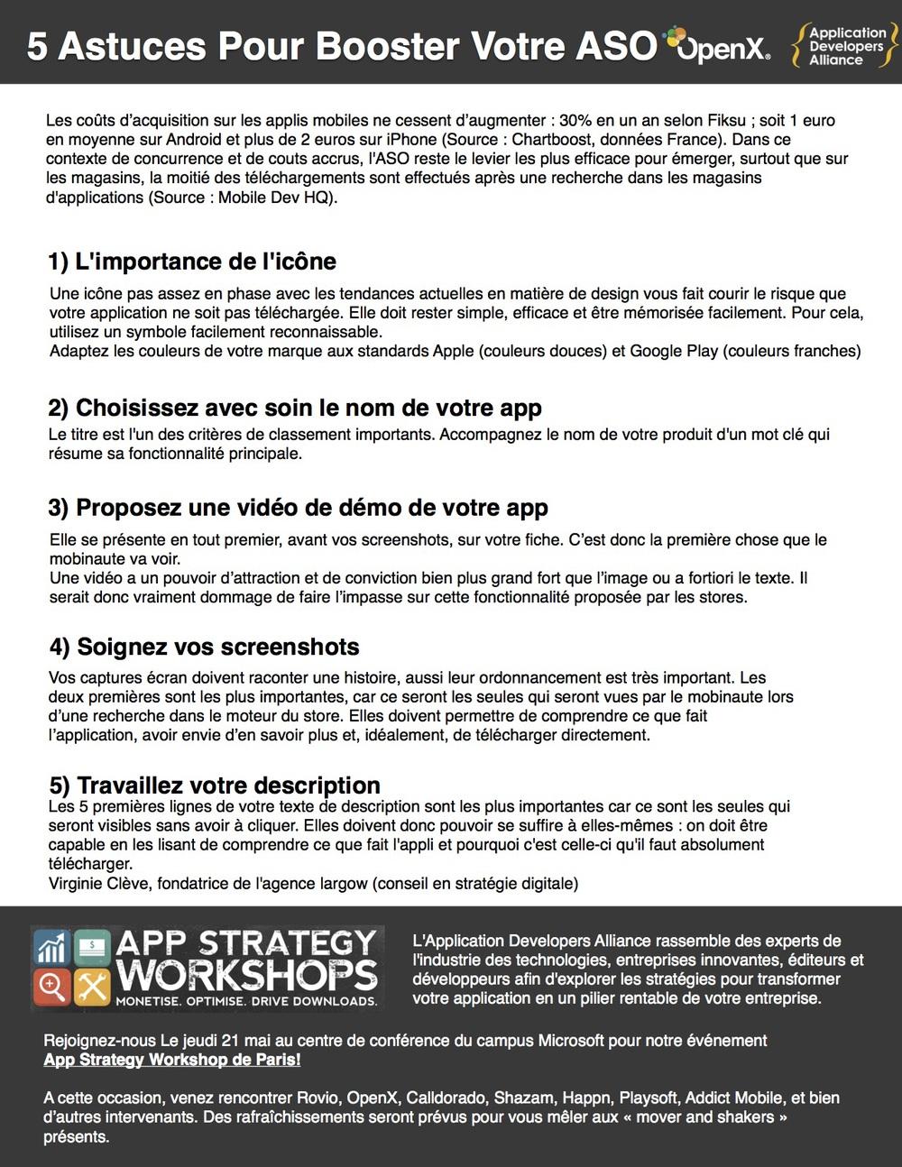 5 Astuces Pour Booster Votre ASO