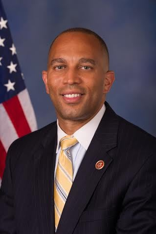 Representative Hakeem Jeffries (D, N.Y.)