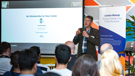 Jon Downing, Innovation Partner - Emerging Payments, Visa Europe Collab.  © Piers Cunliffe Photography