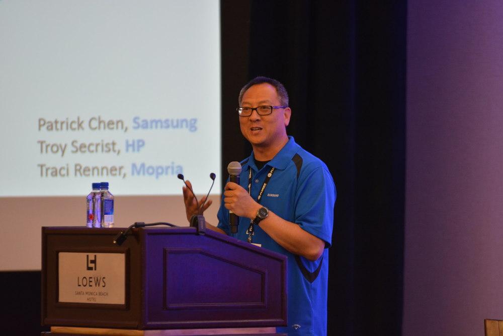 Patrick Chen, Samsung