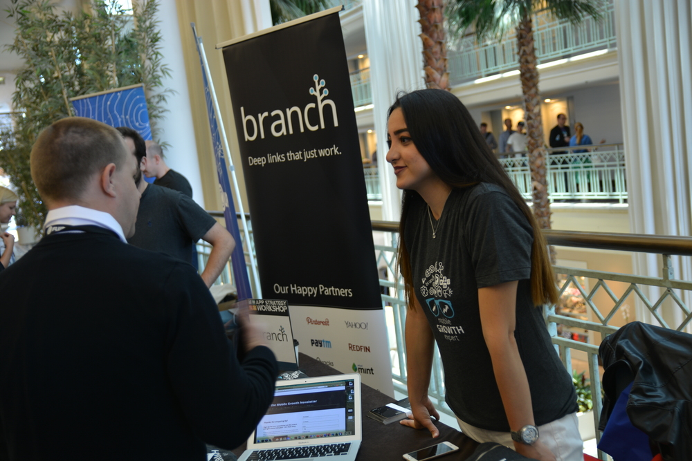 Our sponsor, Branch, creates deep links between apps.