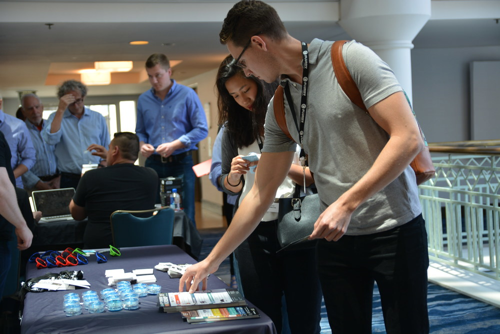 Our attendees loved grabbing some free Apps Alliance swag!