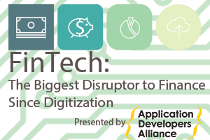 The  FinTech  white paper explores opportunities and key tips for developers entering into the FinTech space. This paper takes a look at three key topics: Raising Finance, Impact of Regulation, and Disruption to Banking.
