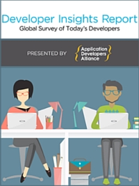 The Developer Insights Report: A Global Survey of Today's Developer is an analysis of the changing nature of the software development industry, what developers are working on, working with, and what they need to succeed.
