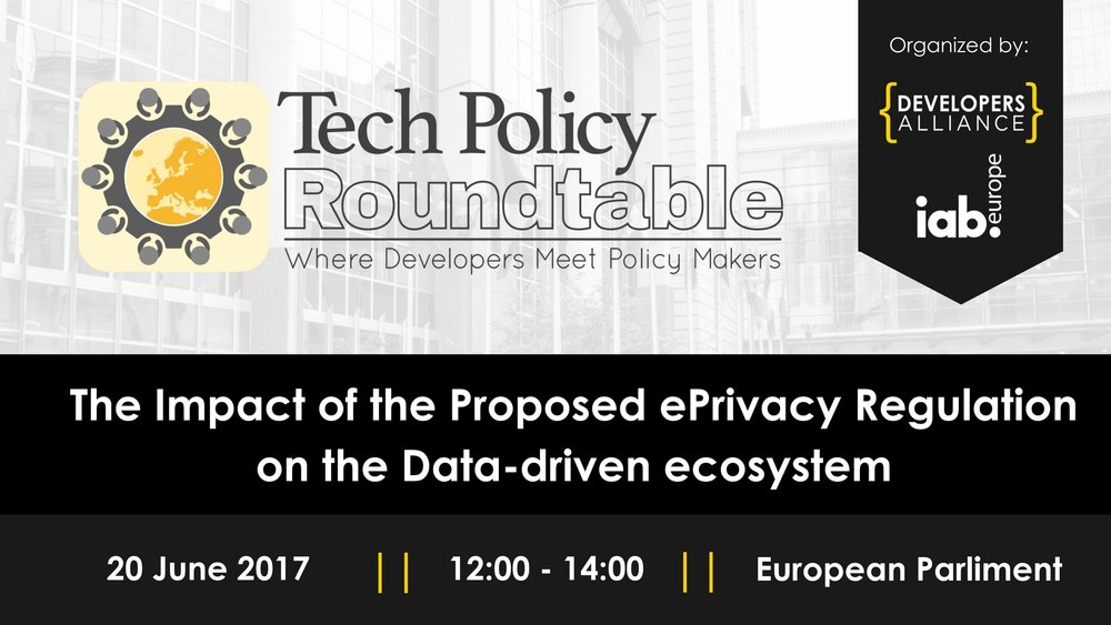 The impact of the proposed e-privacy regulation on the Data-driven ecosystem - Brussels, Belgium