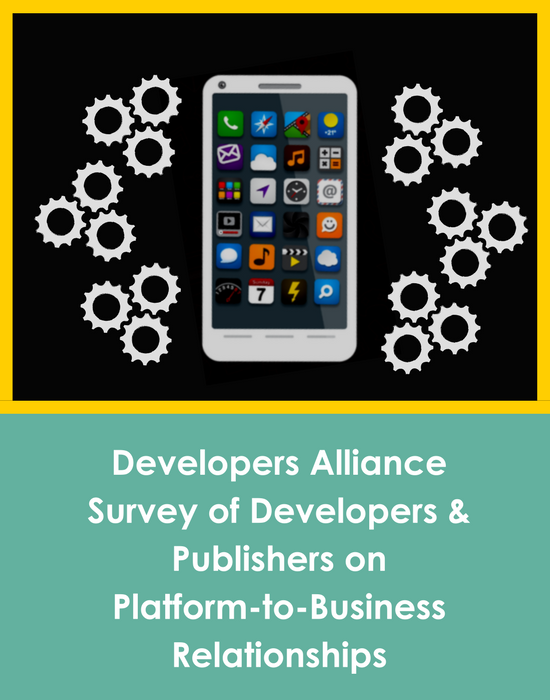 In October 2017, we surveyed  1  10 EU-based developers and publishers  on their experience with platforms.