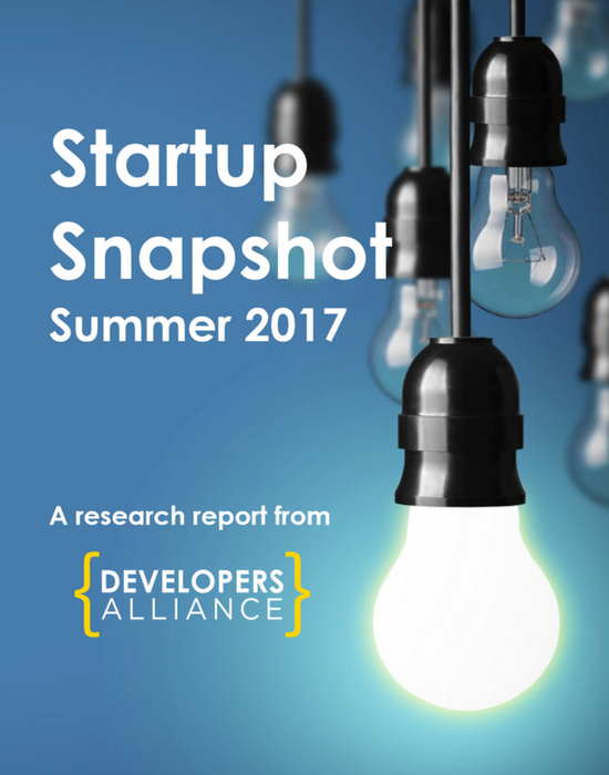 The  Summer 2017 Startup Snapshot  collected 300 responses from over 100 startups that have joined the Alliance in the past year.
