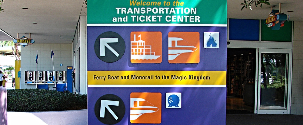 Ticket and Transportation center