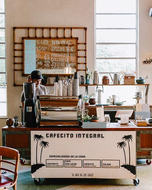 Pop-up espresso bar ☕️ My dream @cafeintegral #cafeintegral