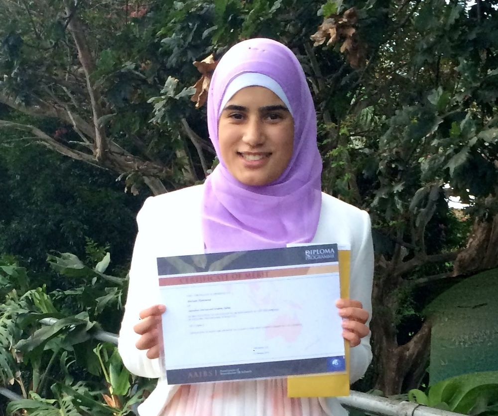 "Mariam received a well-deserved A for her extended essay on Jean Rhys' ""Wide Sargasso Sea""."