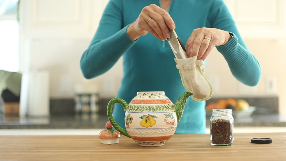 X-Small is perfectly sized for tea pots or single serving cups