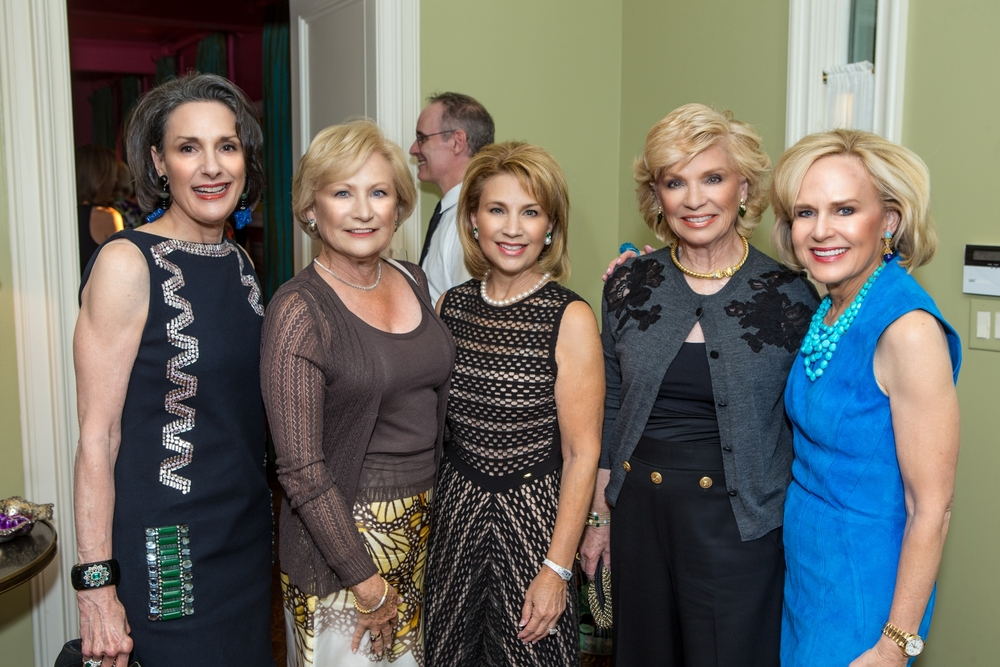 Priscilla Martin, Elaine Griver, Jeanie Luskey, Selma Sherman and Elaine Agather