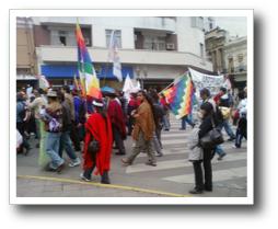 Marcha Pueblos Originarios 3