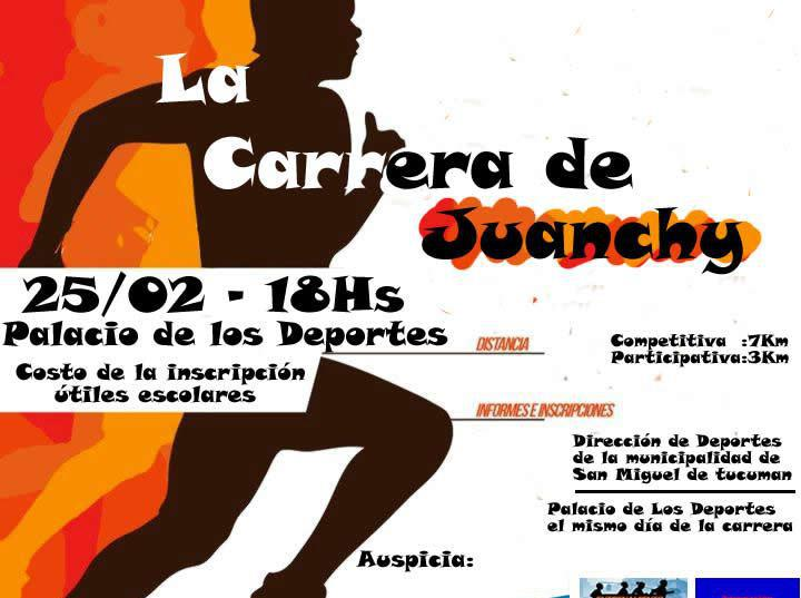 La carrera de Juanchy