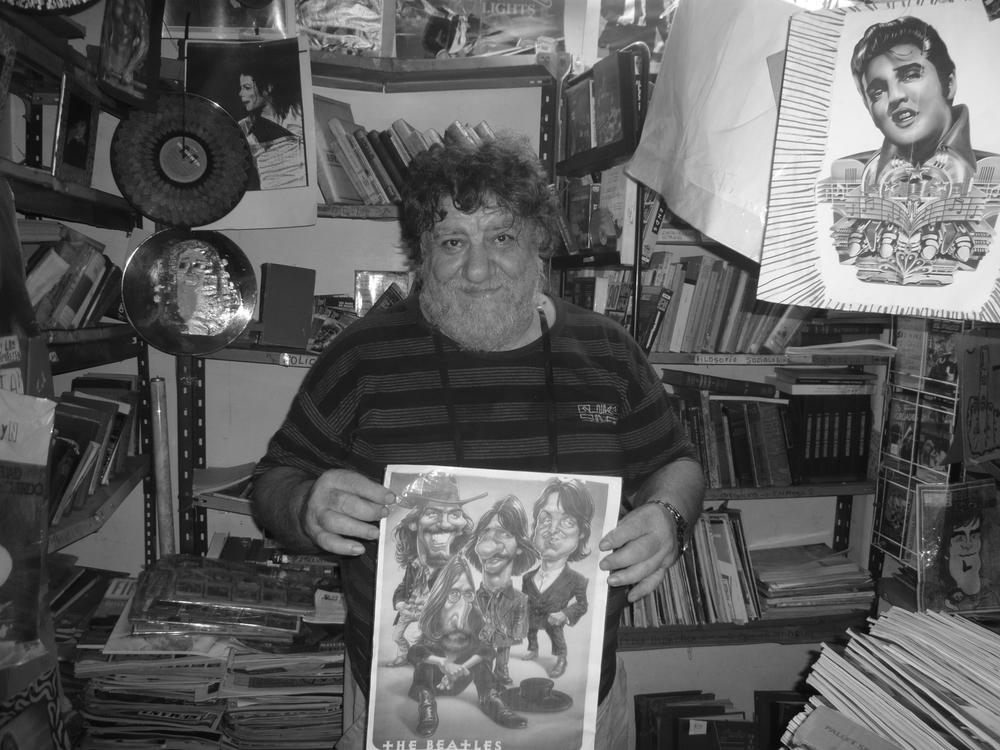 Miguel Angel, dueño de El Loro Viudo | Marianella Triunfetti
