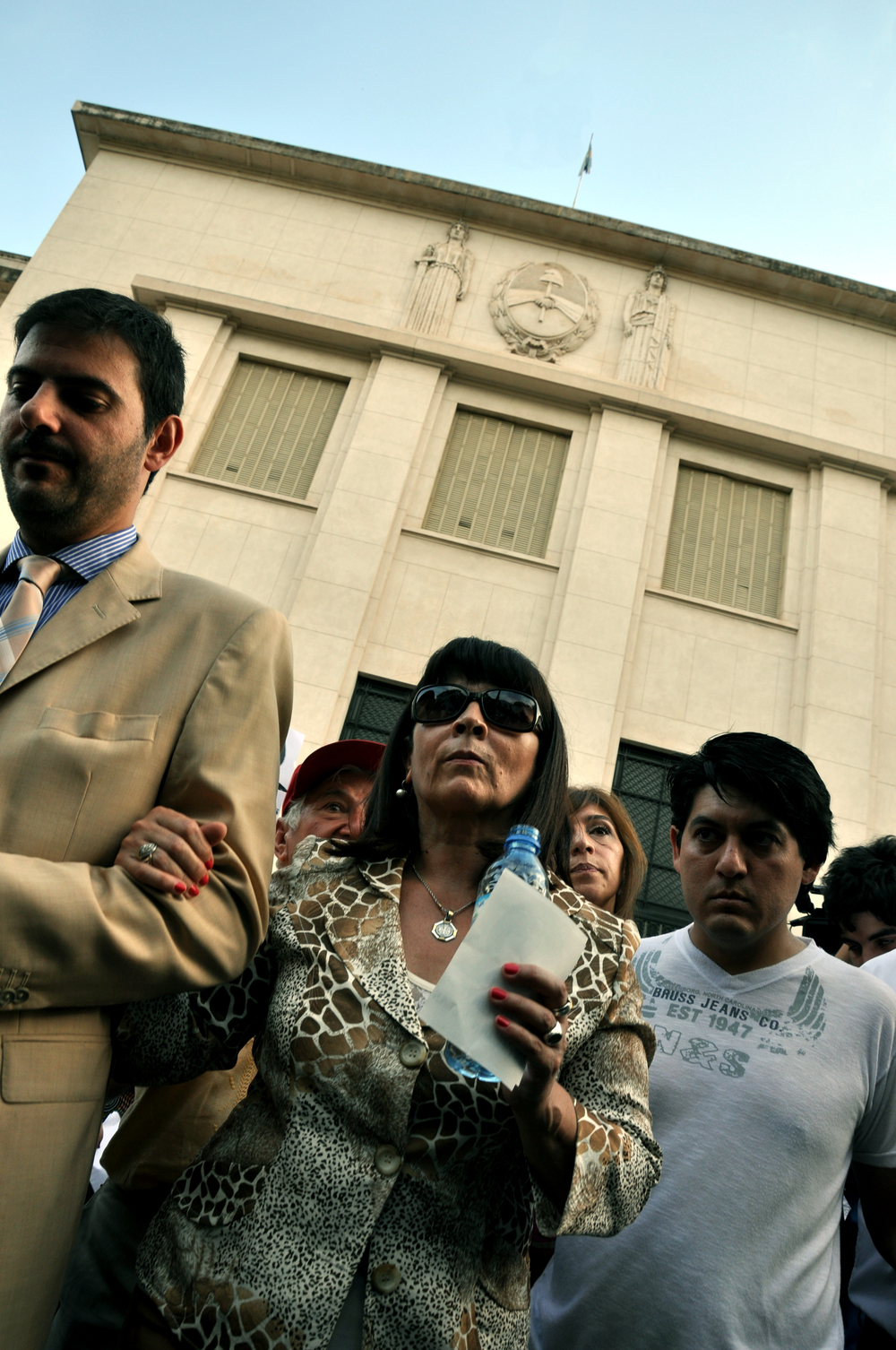Susana Trimarco llega a Tribunales