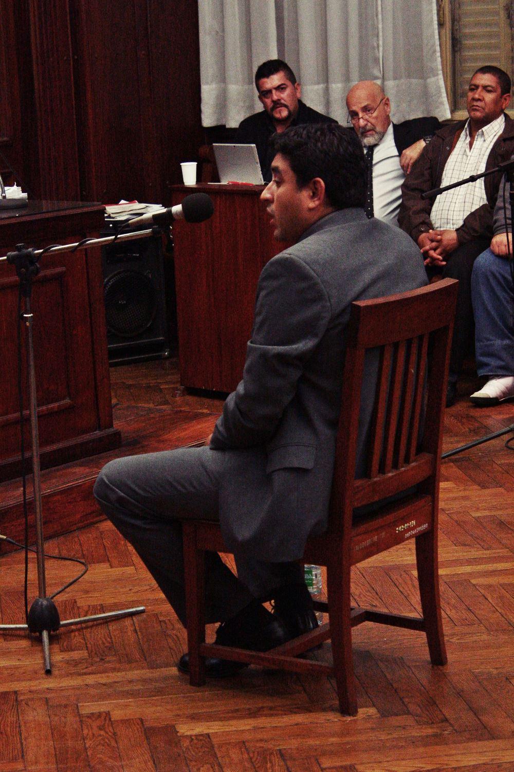 Antonio Monserrat, el segundo policía imputado por el homicidio de Ismael Lucena y las lesiones a Marcelo López.