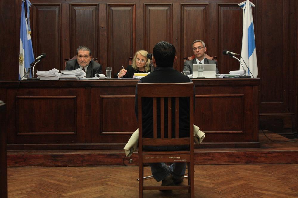 Alejandro Álvarez, uno de los testigos que estaba en la casa donde sucedieron los hechos.