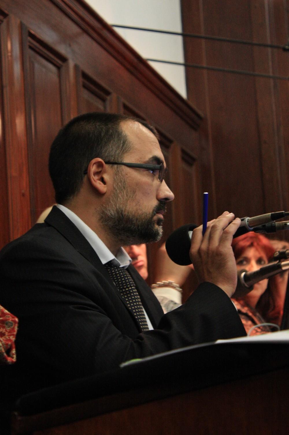 Pablo Gargiulo, abogado querellante por Marcelo López.