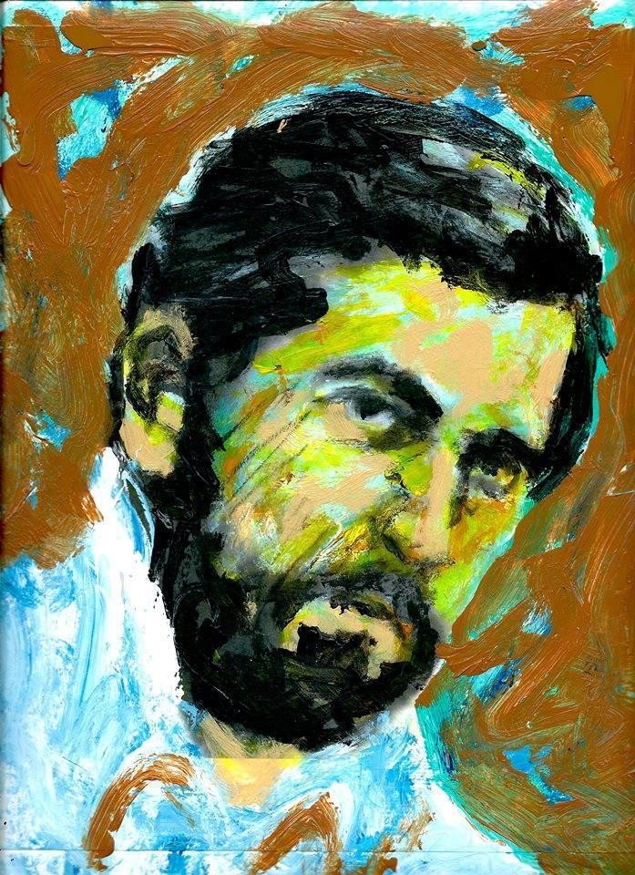 Maurice Jeger | Dibujo de Brian Carlson de la serie Aparecidos.