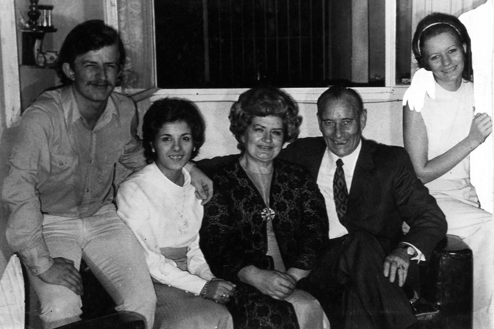 La familia Rondoletto | Fotografía gentileza de Marta Rondoletto