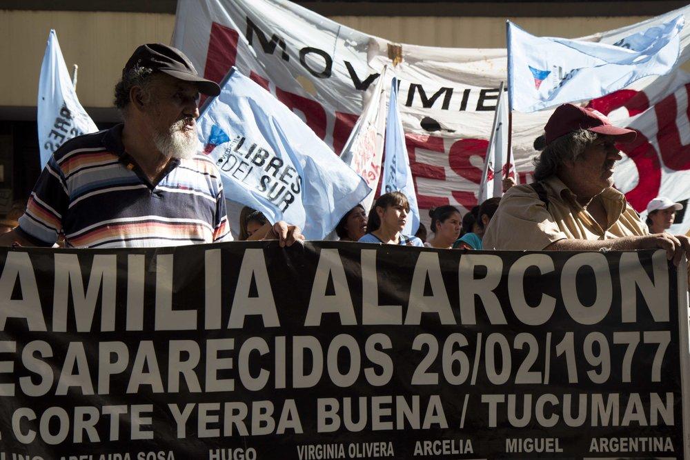 Declaración de Milani en Tucumán