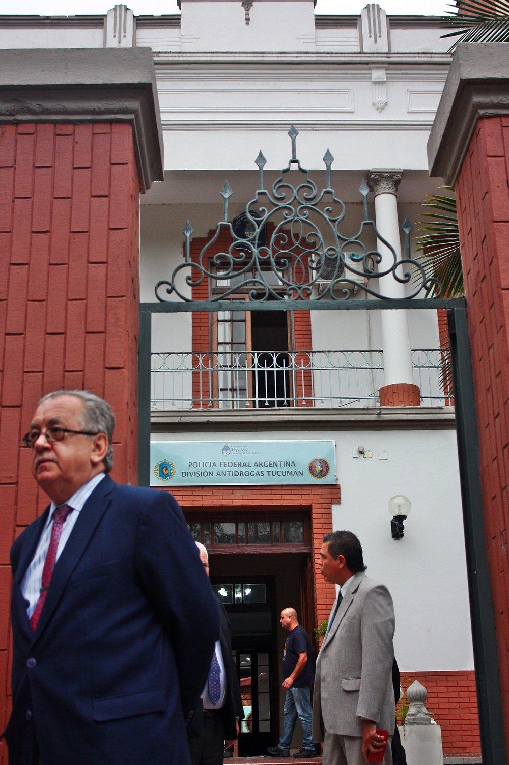 Operativo Independencia. Inspección ocular en Policía Federal y Hospital Militar, 10 de marzo de 2017. Fotografía de Ignacio López Isasmendi.