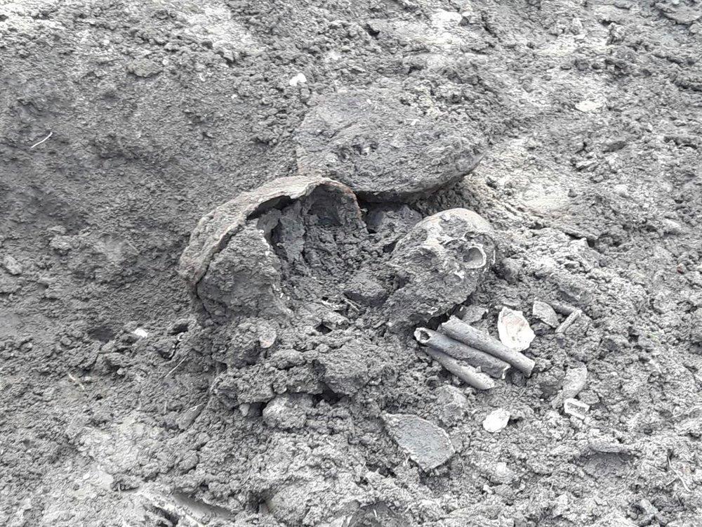 Los restos encontrados en Tafí Viejo | Fotografía de Exequiel Reinoso