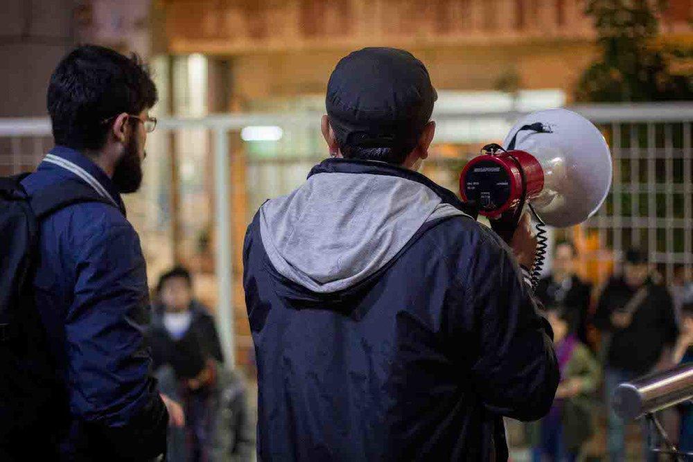 Acto en defensa del cine argentino - Espacio INCAA de Tucumán | Fotografía de Elena Nicolay
