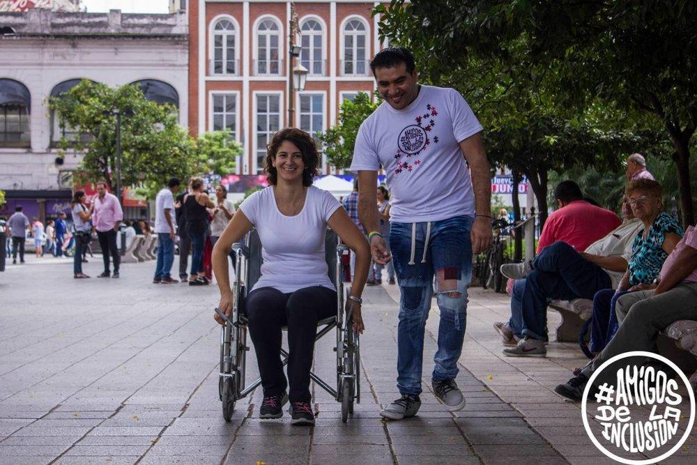 Fotografía: Amigos de la Inclusión