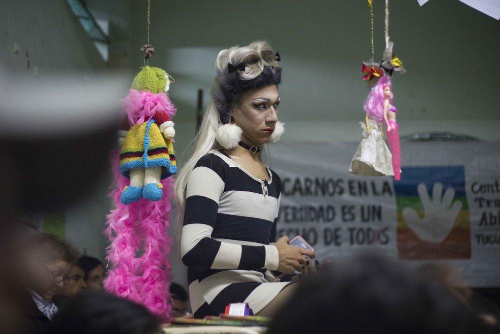 Susy Shock en el CETRANS | Fotografía de Elena Nicolay
