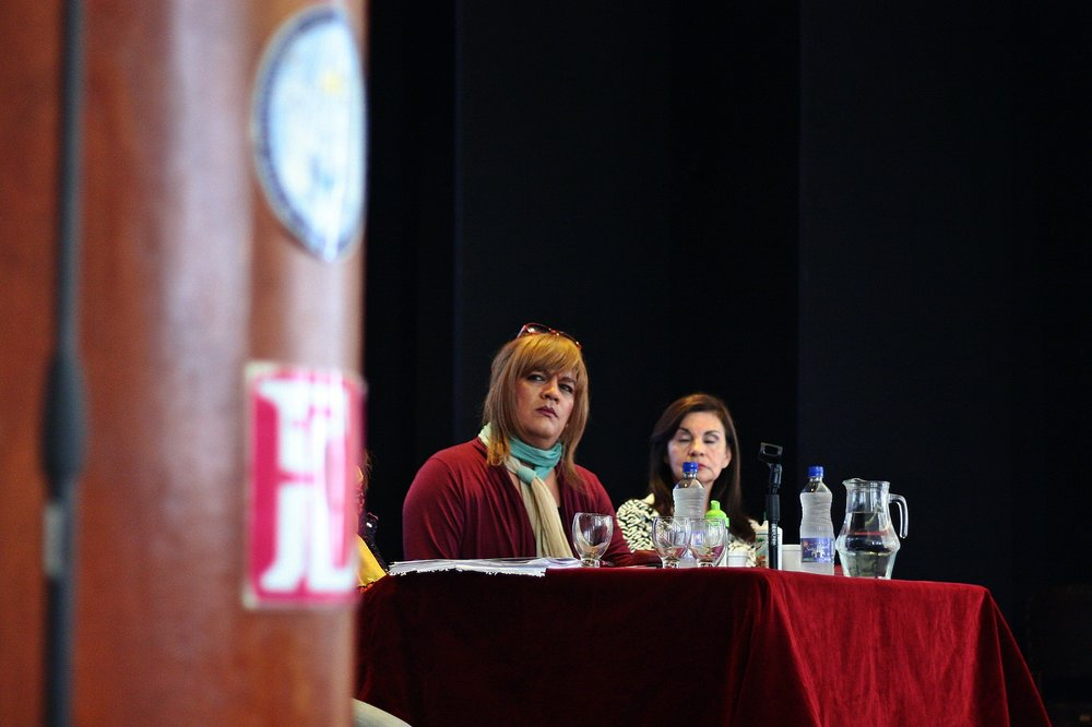Susy Shock en la Facultad de Filosofía y Letras | Fotografía de Ignacio López Isasmendi