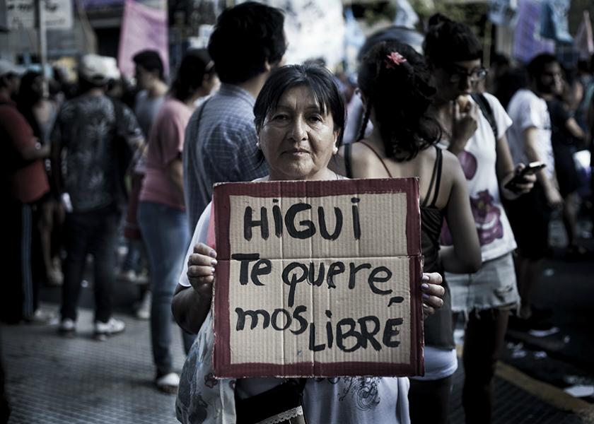Fotografía: Cosecha Roja
