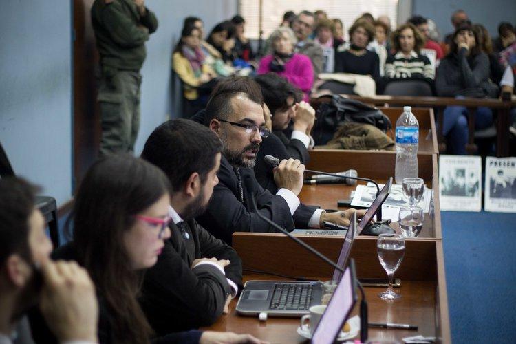 El abogado querellante Pablo Gargiulo | Fotografía de Elena Nicolay