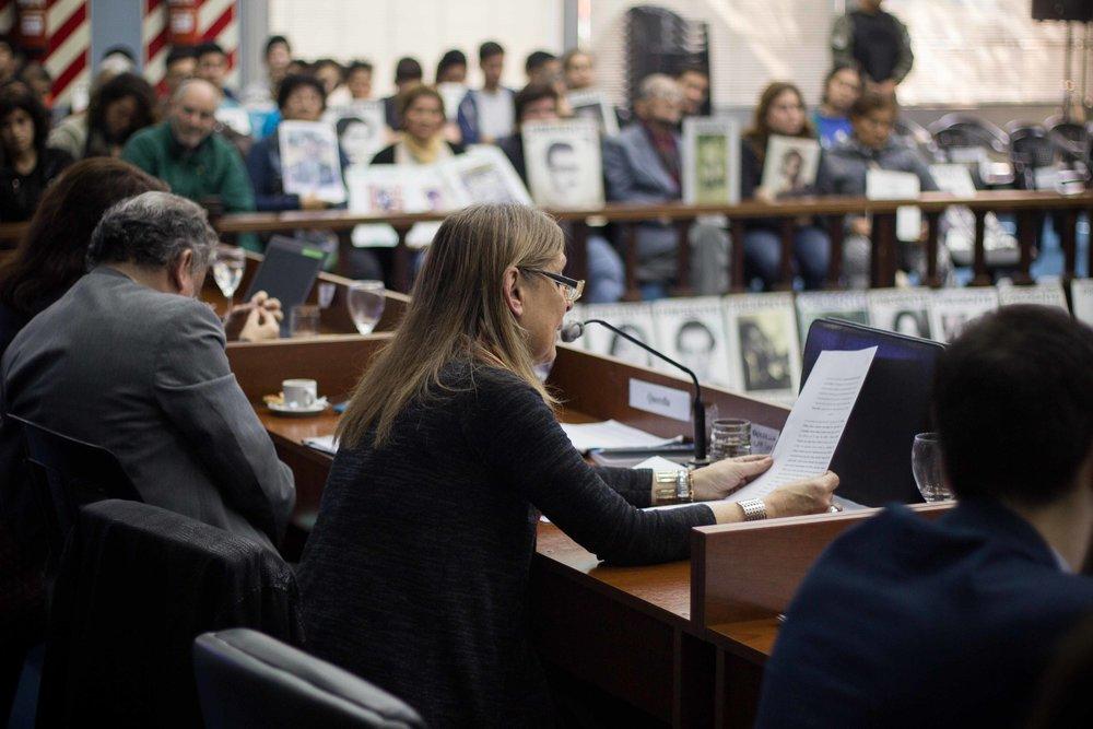 Liliana Molinari, del Comité por la Defensa de la Salud, la Ética y los Derechos Humanos | Fotografía de Elena Nicolay