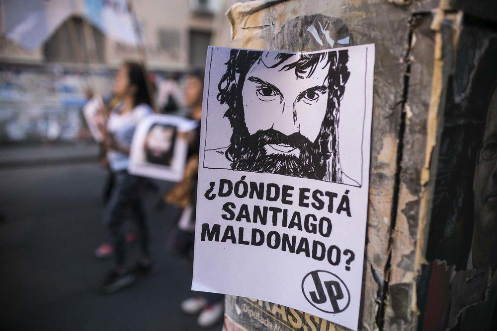 Por la aparición de Santiago Maldonado