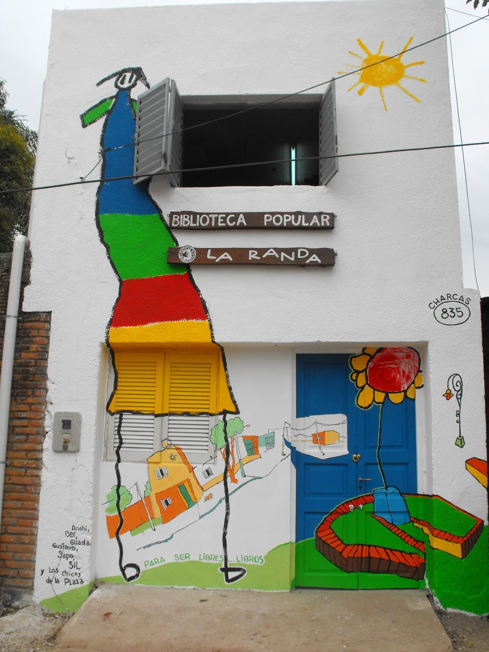 Fotografía gentileza de Biblioteca Popular La Randa